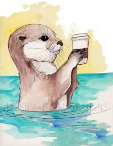 CAFE Lab Otter with Watermark